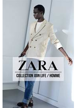 Catalogues et collections ZARA : Collection Join Life  Homme