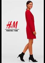 Catalogues et collections H&M : Promotions  Femme