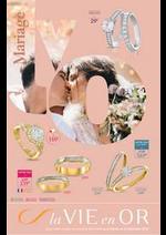 Prospectus Auchan : Bijouterie : Spécial mariage