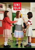 Catalogues et collections Uniqlo : Des gamins
