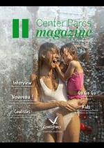 Journaux et magazines  : Magazine Center Parcs