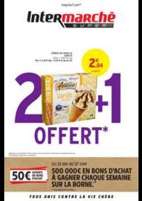 Promos et remises Intermarché Super Chaumont : 2 + 1 OFFERT