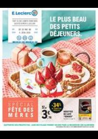 Prospectus E.Leclerc PONTARLIER : Le plus beau des petits déjeuners