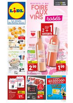 Prospectus  : Foire aux vins rosés