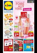 Prospectus Lidl : Foire aux vins rosés
