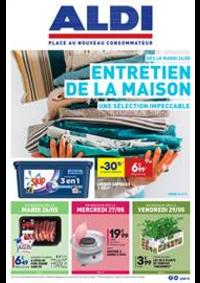 Prospectus Aldi Les Fins : Entretien de la MAISON