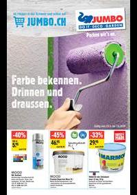 Promos et remises Jumbo Maximo Allmendingen b. Bern : Extra: Farben