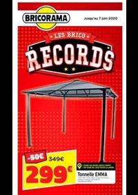 Prospectus Bricorama THONON - ANTHY SUR LEMAN : Les Brico Records