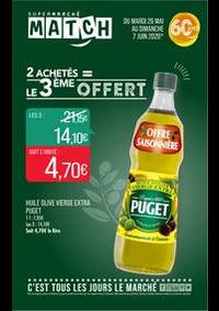Prospectus Supermarchés Match Ars sur Moselle : 2 achetés = le 3ème offert