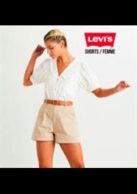 Prospectus Levi's Store Pairs Italie : Shorts / Femme