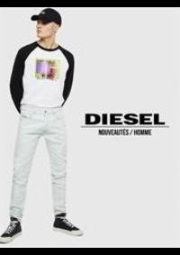 Catalogues et collections Diesel Bruxelles - Rue Dansaert  : Nouveautés  Homme