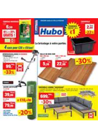 Promos et remises Hubo Floreffe : Depliant Hubo