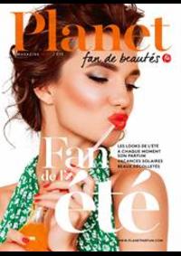 Journaux et magazines Planet Parfum Parfumerie Ixelles Louise : Summer trends