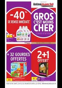 Prospectus Intermarché Super Roche la Molière : GROS EN C'EST MOINS CHER