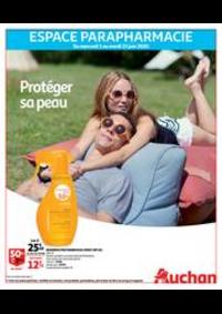 Prospectus Auchan Vélizy : Protéger sa peau