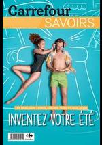 Prospectus Carrefour : Savoirs Juin