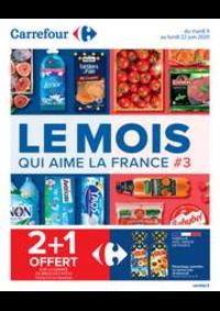Promos et remises Carrefour LA VALETTE DU VAR : Le Mois qui aime la France #3