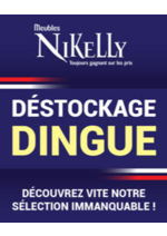 Promos et remises Meubles Nikelly : Déstockage dingue