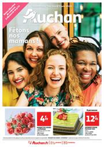 Prospectus Auchan : Fêtons nos mamans !