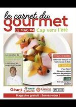 Journaux et magazines Supermarchés Casino : Le carnet du gourmet