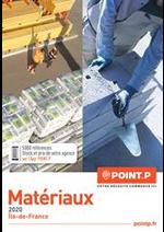 Prospectus Point P : Catalogue Matériaux 2020