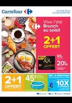 Prospectus Carrefour : Vive l'été - Brunch au soleil