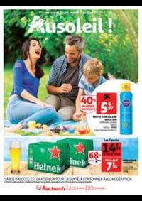 Prospectus Auchan OSNY : Au soleil !