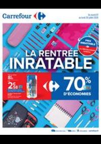 Prospectus Carrefour PUGET SUR ARGENS : La rentrée inratable
