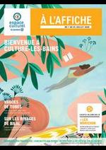 Prospectus E.Leclerc : BIENVENUE À CULTURE-LES-BAINS