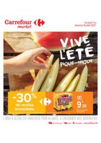 Prospectus Carrefour Market Vaires Sur Marne : Vive l été, pique-nique