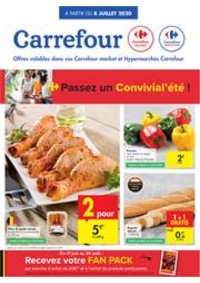 Prospectus Carrefour Market BRUSSEL - SCHAARBEEK : folder Carrefour Market