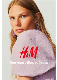 Catalogues et collections H&M La Défense : Nouveau - lilas et fleurs