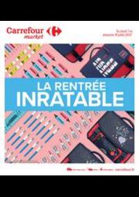 Prospectus Carrefour Market BOURGES AVENUE DE LATTRE DE TASSIGNY : La rentrée inratable