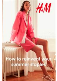 Catalogues et collections H&M Charenton : How to reinvent your summer staples