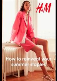 Prospectus H&M Paris Porte Lescot Niveaux-1 -2 -3 : How to reinvent your summer staples
