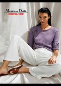Catalogues et collections Massimo Dutti Women Men Louvain-La-Neuve : Promotion  Femme