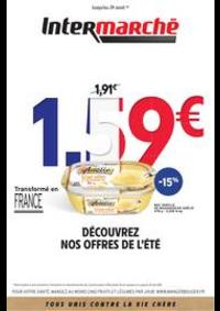 Prospectus Intermarché Super Chilly Mazarin : DÉCOUVREZ NOS OFFRES DE L'ÉTÉ