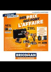 Prospectus Bricoman Toulouse -  Fenouillet : Des prix qui font l'affaire