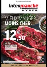 Prospectus Intermarché Hyper L'AIGLE : MIEUX MANGER MOINS CHER.
