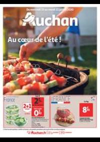 Prospectus Auchan Leers : Au coeur de l'été !