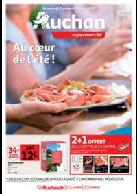 Prospectus Auchan TOULOUSE : Au coeur de l'été