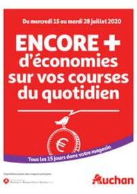 Prospectus Auchan Leers : Des économies au quotidien
