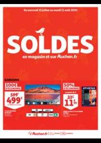 Prospectus Auchan RONCQ : SOLDES : en magasin et sur Auchan.fr
