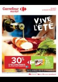 Prospectus Carrefour Market Paris Saint Ouen : Vive l été
