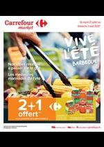 Prospectus Carrefour Market : Vive l été