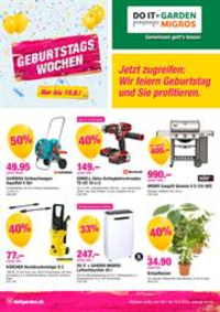 Promos et remises Do it + Garden Bern - Marktgasse Fachmarkt : Do it + Garden Aktionsflyer