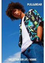 Prospectus Pull & Bear  : Collection Join Life / Homme