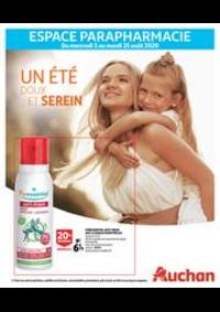 Prospectus Auchan Vélizy : Un été doux et serein