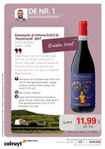 Prospectus Colruyt : Wijnrappel