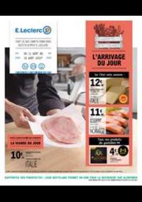Prospectus E.Leclerc CLICHY SOUS BOIS : L'ARRIVAGE DU JOUR
